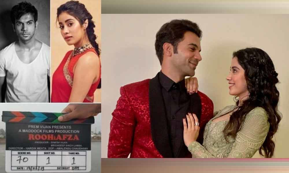 Rajkummar Rao And Janhvi Kapoor Starts Shooting for RoohiAfza