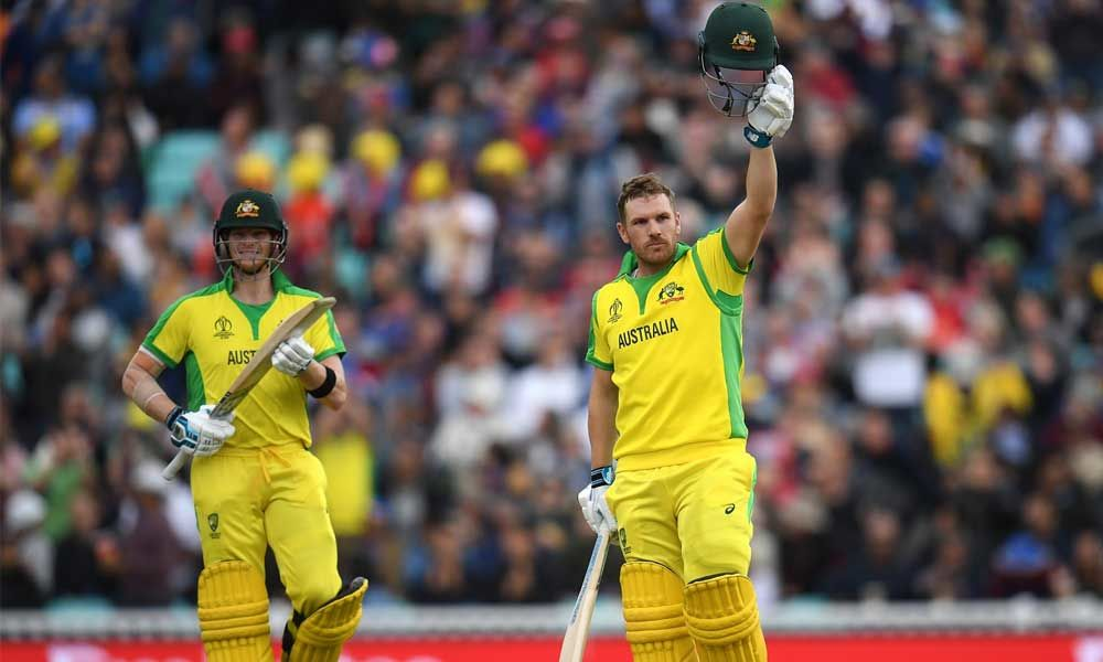 Finch hits ton to power Australia to 334-7 against Sri Lanka