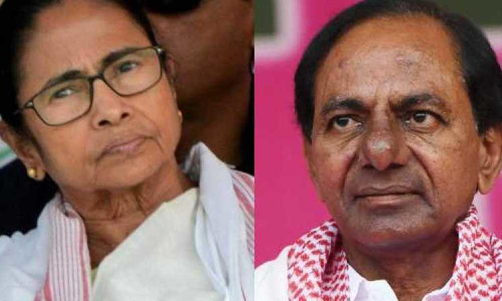 West Bengal CM Mamata Banerjee and Telangana CM K Chandrashekhar Rao skip NITI Aayog meet