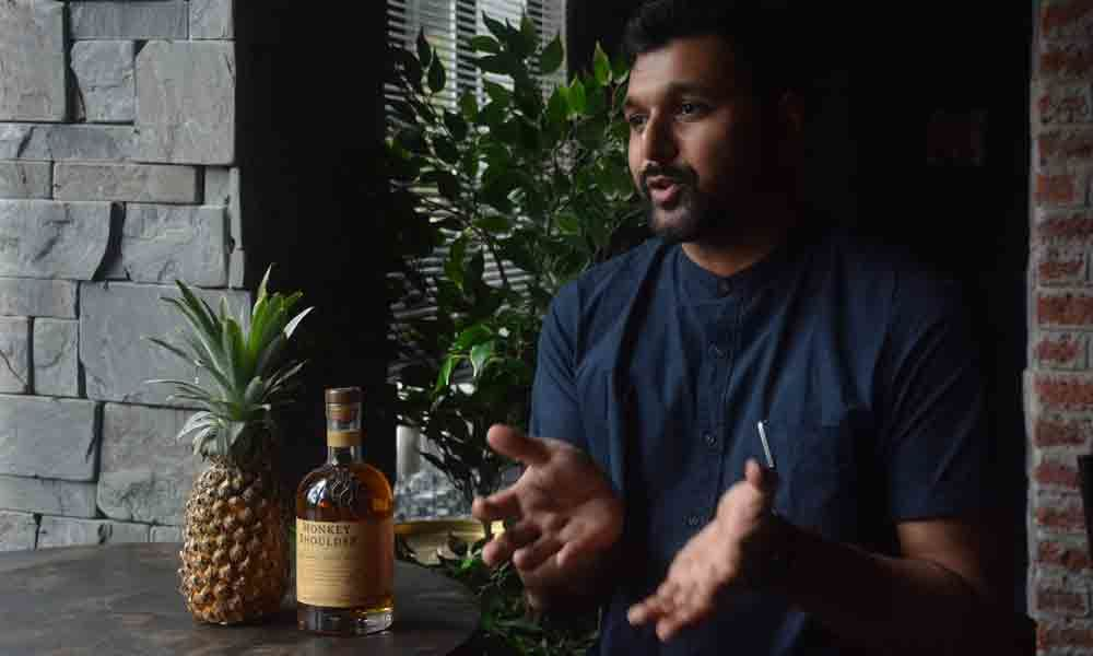 Whisky musings with Pankaj Balachandran