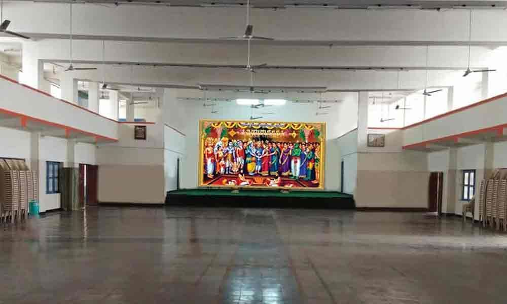 TTD mandapams renovated with modern amenities