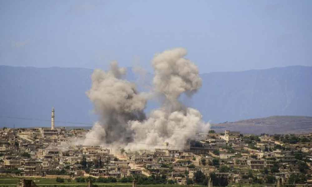 7 killed, 15 injured in air strikes by Assad regime in Syria