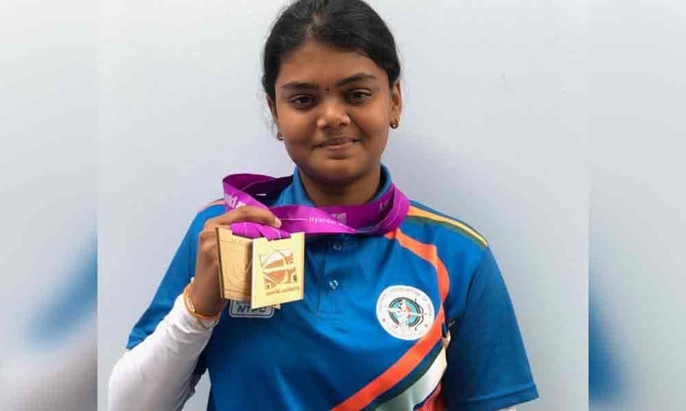 Archer Surekha wins 2 medals