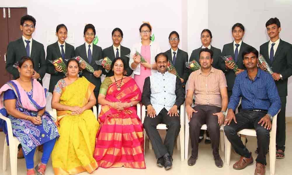 Sri Shirdi Sai students excel in CLAT