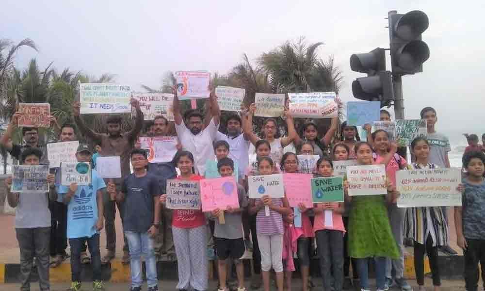 Students create awareness on land degradation