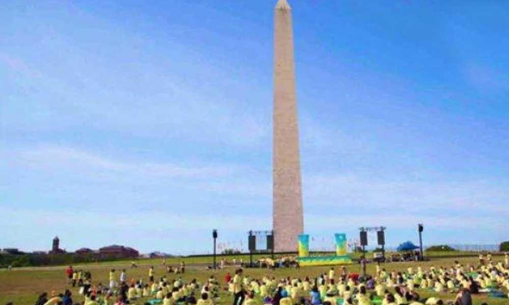 International Yoga Day celebrated in US