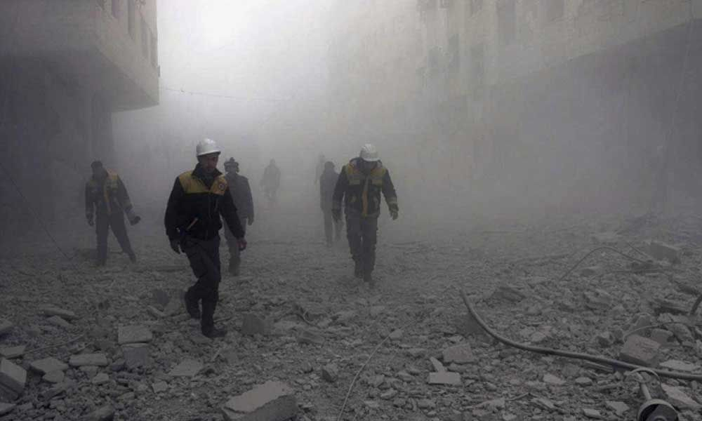 Mortar shelling in Aleppo kills 12