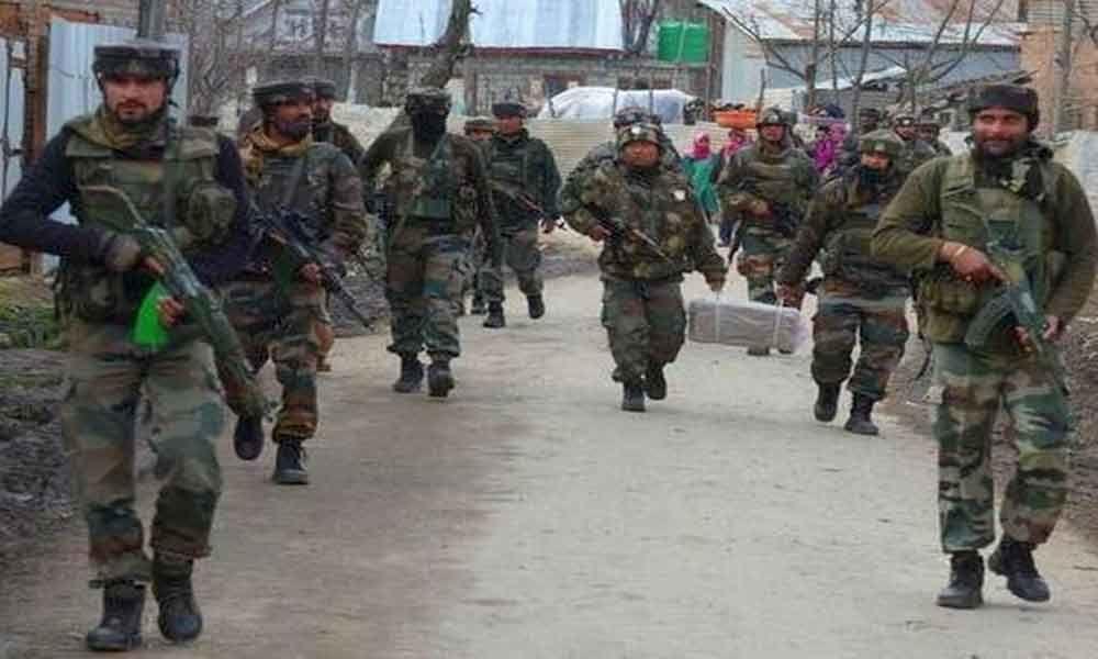 Captain, two militants killed in Jammu&Kashmir gunfight