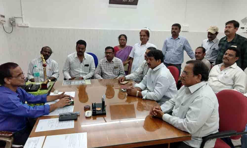 Tirupati: Promotions assured to Ruia class IV staff