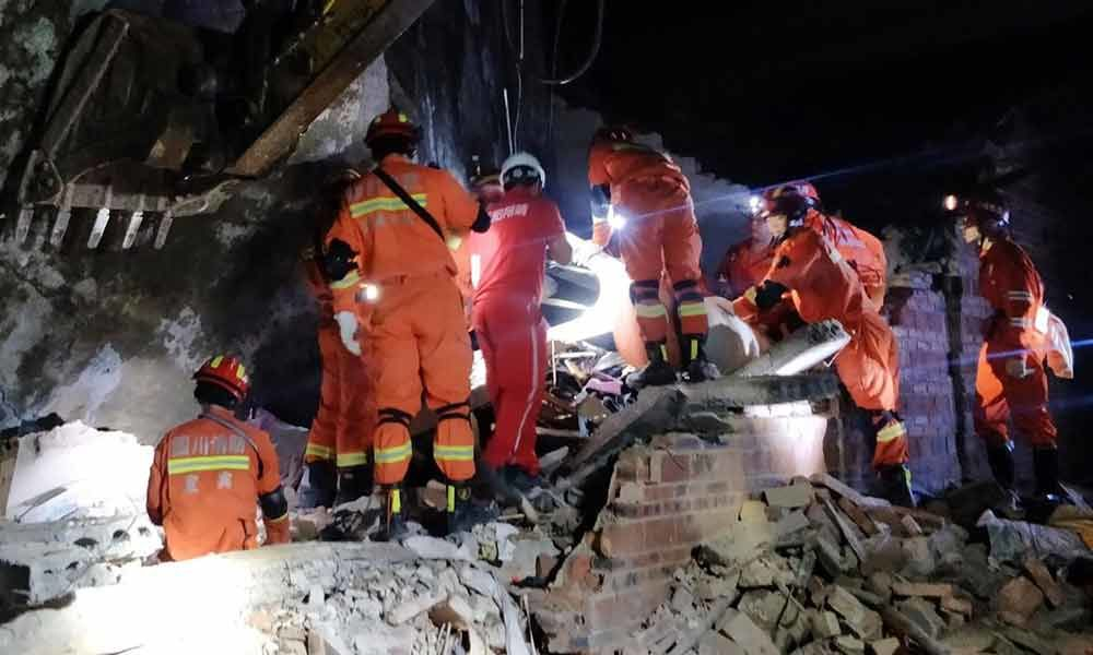 At least 12 killed, over 100 injured as string of quakes strike China