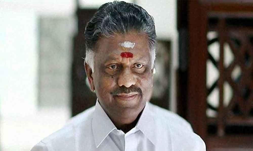 Panneerselvam greets Nadda on becoming BJP