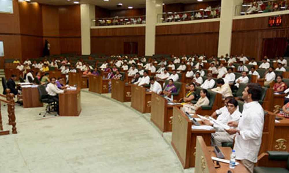 AP Assembly sessions to conclude today, CM YS Jagan to visit New Delhi