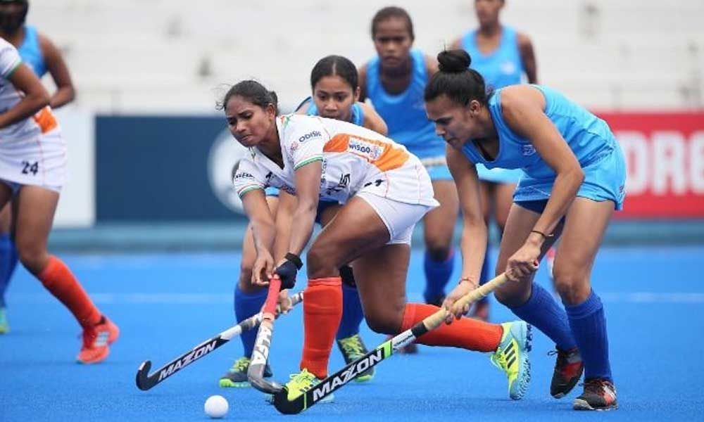 India maul Fiji 11-0 to enter last-four round of FIH Womens Series Finals