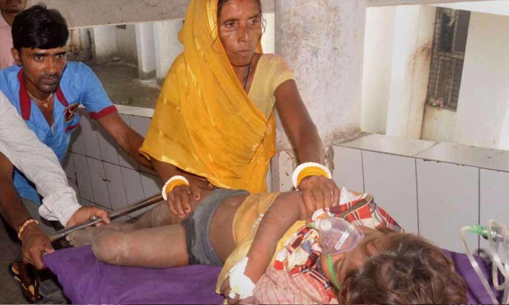 Bihar: Encephalitis death toll mounts to 108, locals protest against Nitish outside Muzaffarpur hospital
