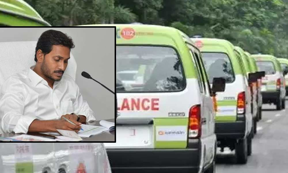 CM YS Jagan orders to purchase 650 new ambulance