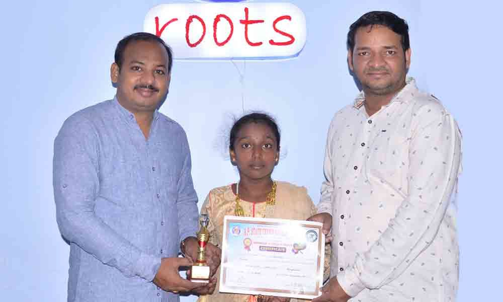 Roots student finishes runner-up in Tennis Ranking Circuit