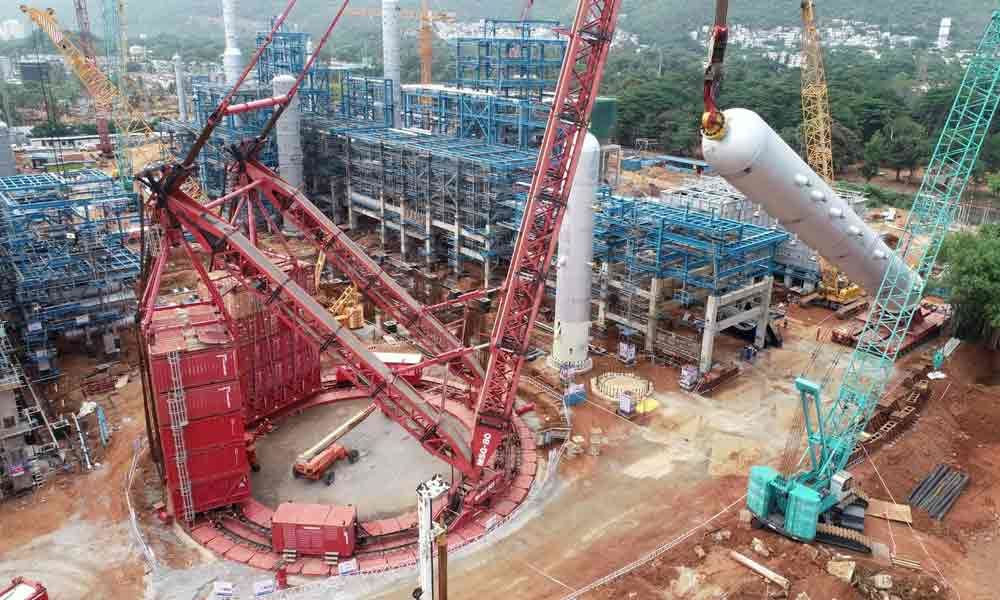 Heavy reactor installed at HPCL-Visakh Refinery