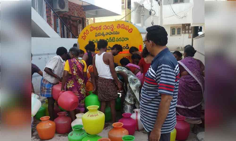 Special teams formed to end water woes