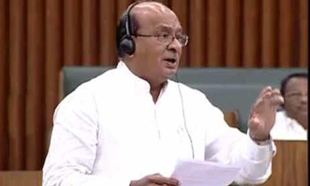 Gorantla demands CM to reveal stand on Amaravati