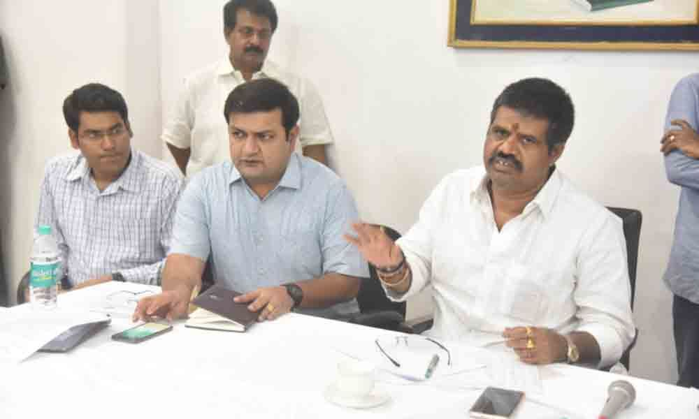 Land grabbers will not be spared: Muttamsetti