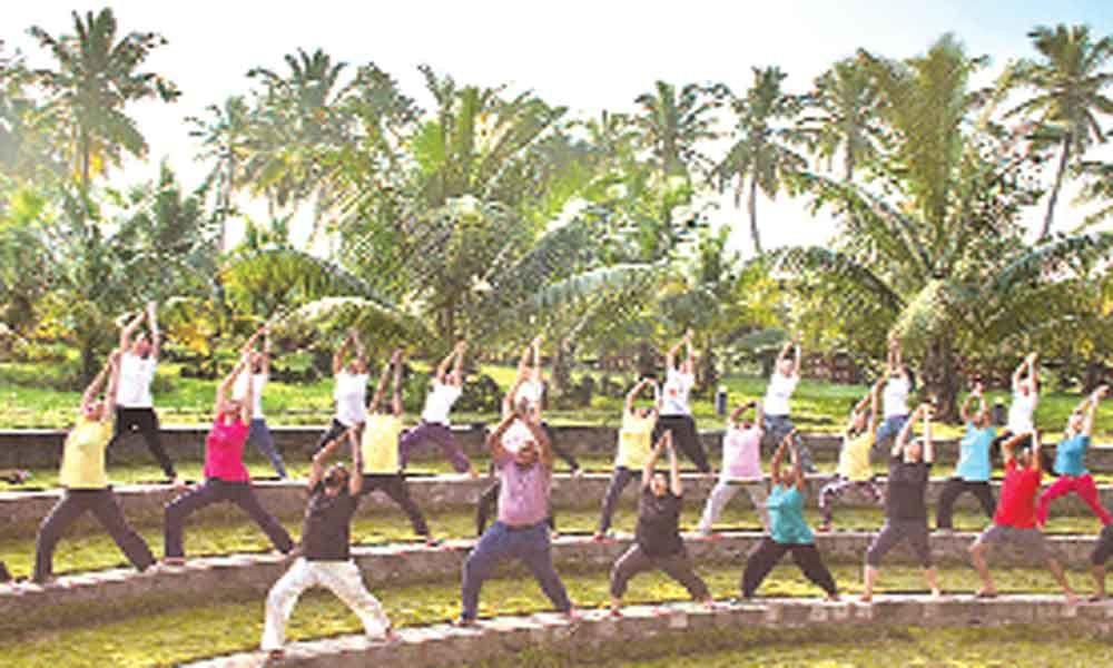Heartfulness Institutes Yoga event tomorrow