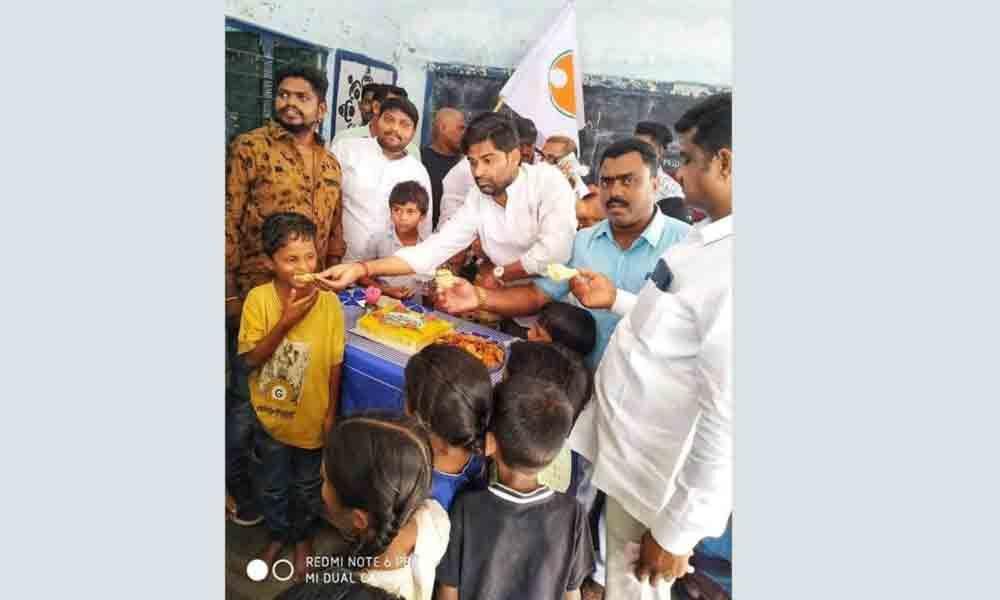 Mancherial:Follow footsteps of Rahul Gandhi