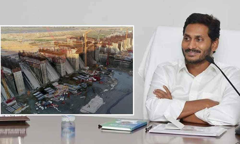 CM YS Jagan Mohan Reddy to visit Polavaram project today