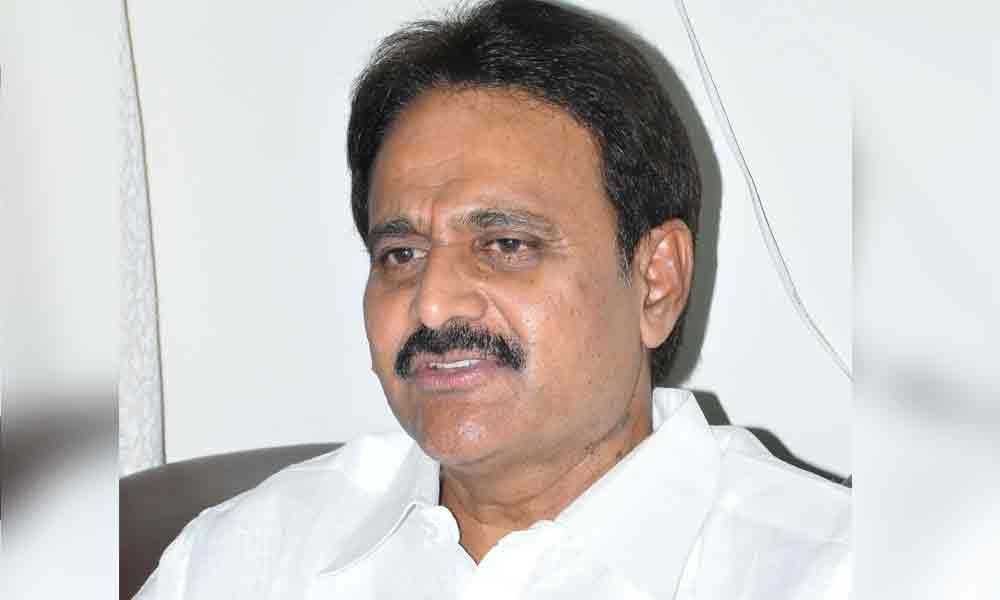Mopidevi Venkataramana Rao alleges corruption in capital construction
