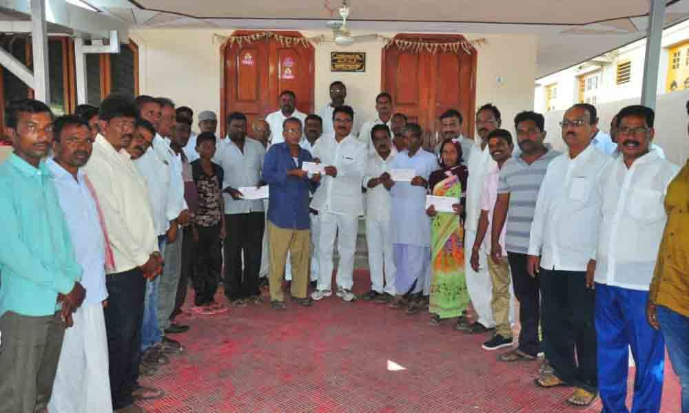 10 ailing persons get financial aid from Chief Minister