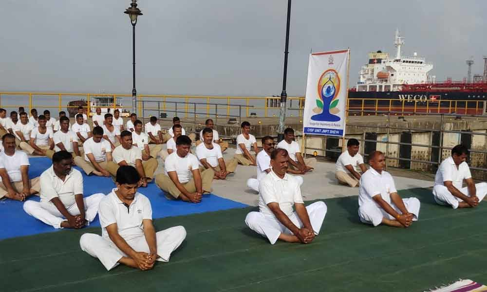 Thousands of CISF personnel to observe yoga day