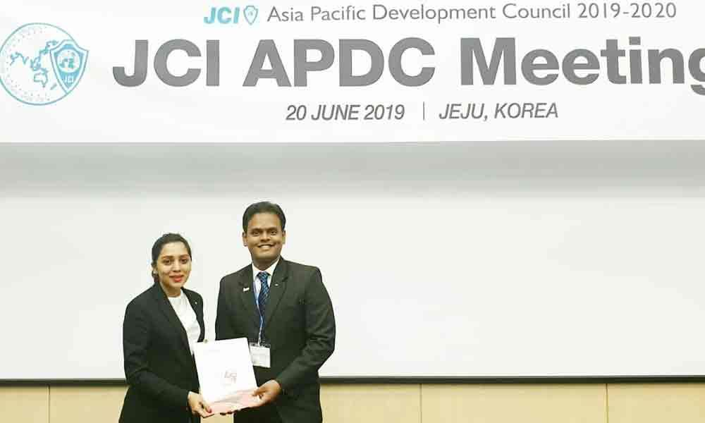 Harshavardhan nominated to JCI Asia Pacific Development Council