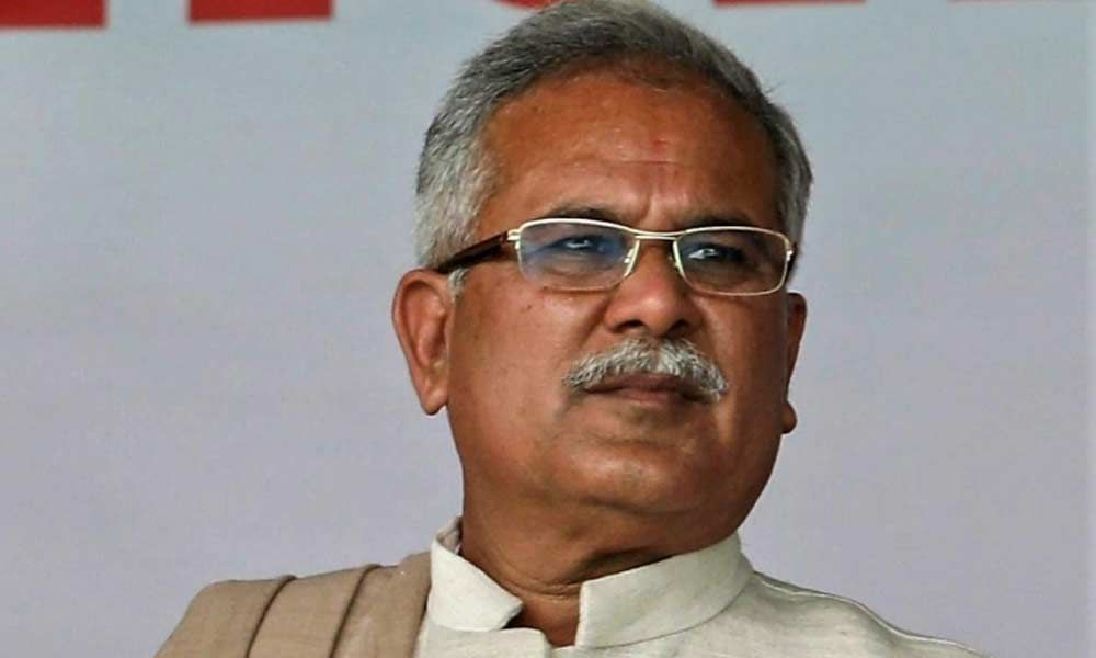 One nation, one election to divert peoples attention from key issues: Bhupesh Baghel
