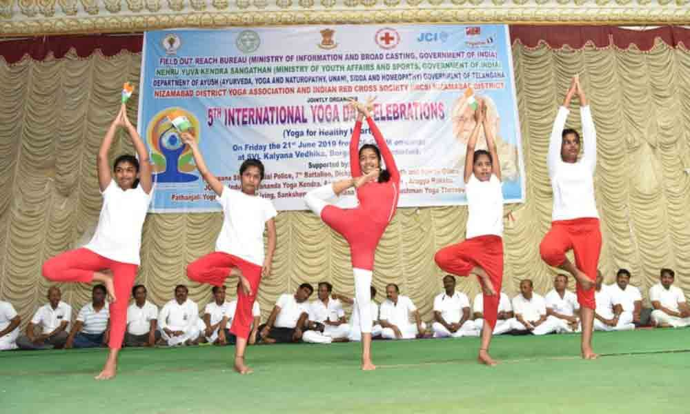 Yoga cures chronic diseases: Collector MRM Rao