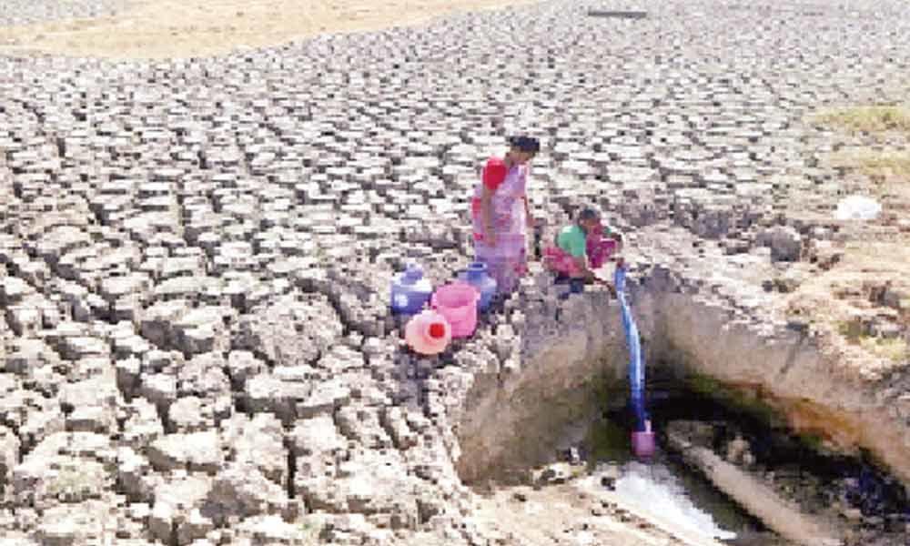 Water level in Chennai at zero