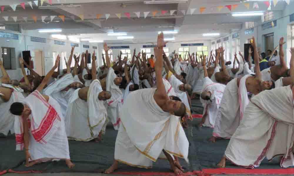 Tirupati : Yoga Day celebrated on grand note in pilgrim city