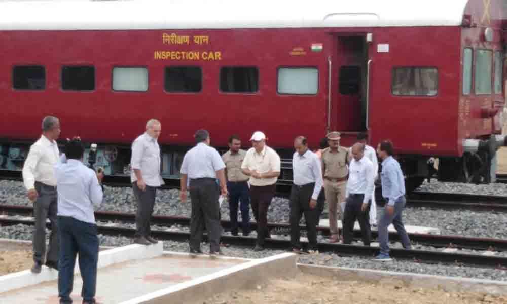 Krishnapatnam-Obulavaripalle: passenger service from December