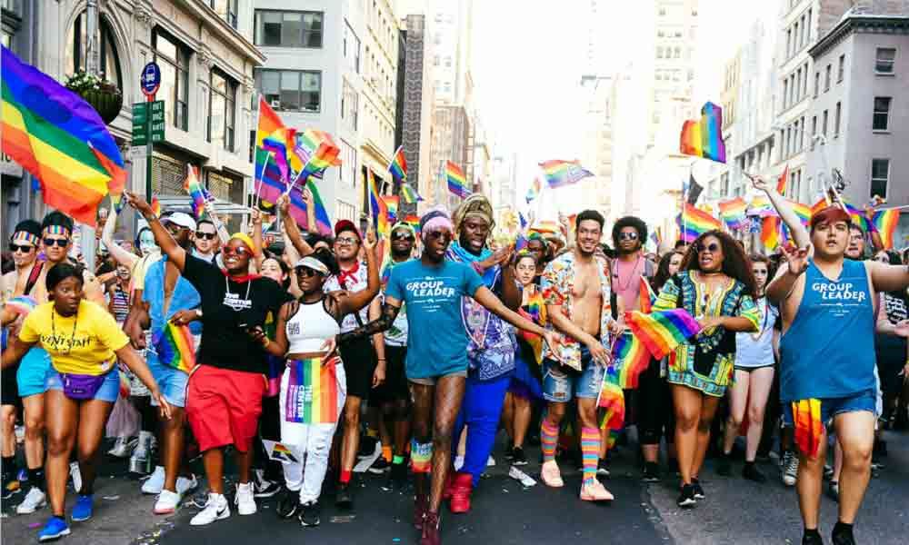 Lighting up with pride in New York