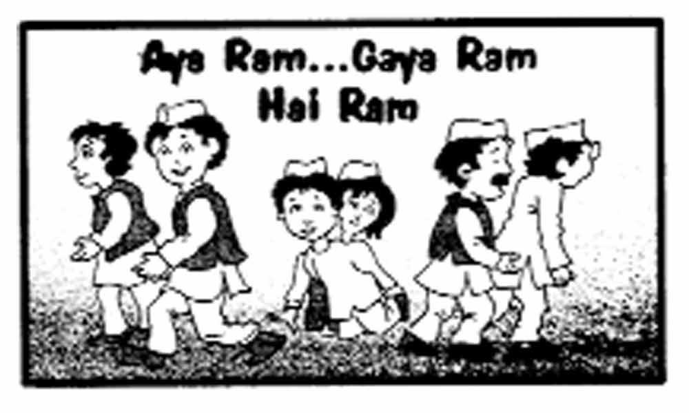 Time to end Aya Ram, Gaya Ram drama