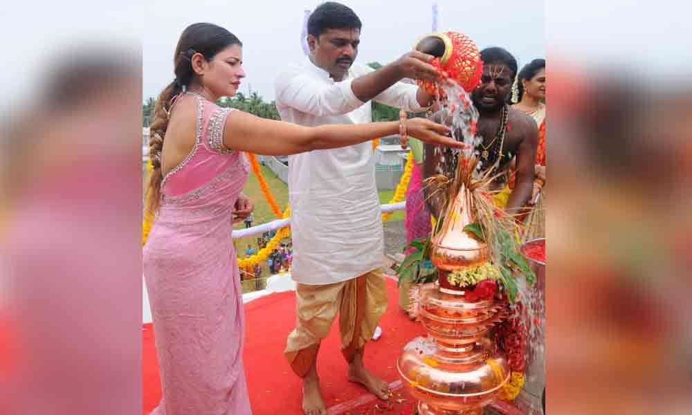 Prana Pratistha ceremony performed