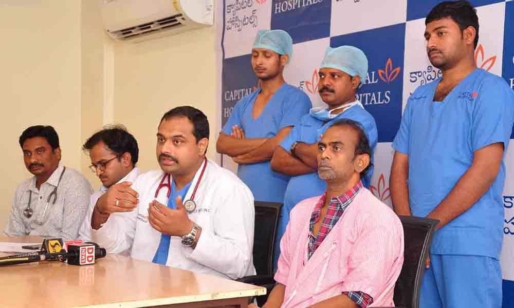 Rare heart surgery performed at Capital Hospital
