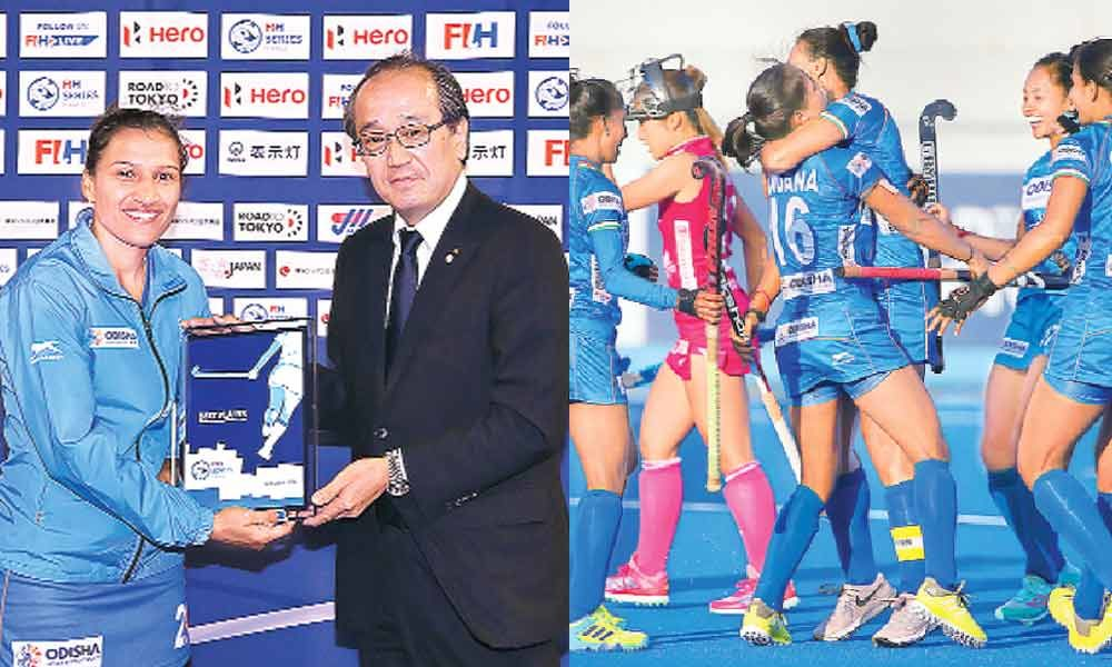 India triumph in FIH Women
