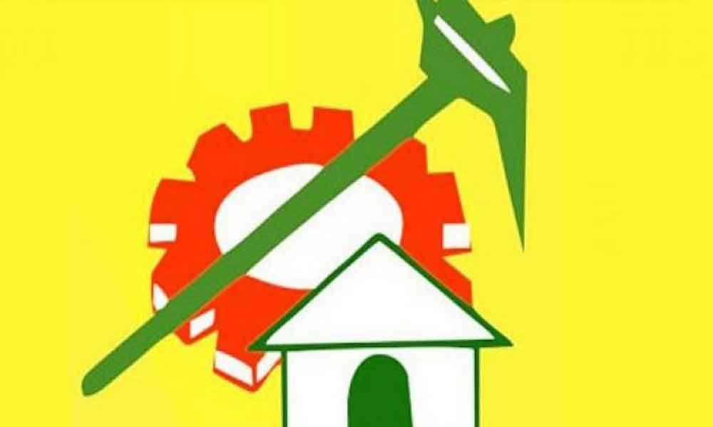 TDP leaders meeting over Praja Vedika demolition orders
