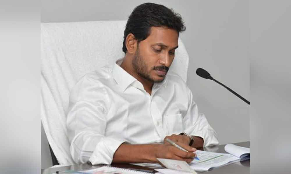 Take measure to close all belt shops in state by Oct 2019  CM Jagan directs officials