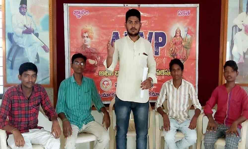 ABVP demands fulfilment of pending posts