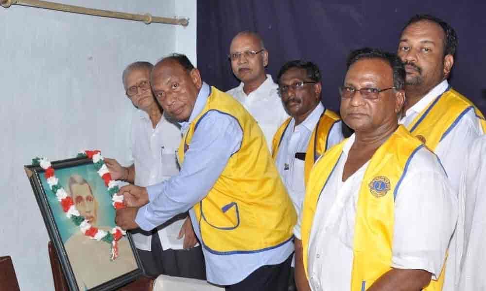 Services of Merla Subba Rao hailed