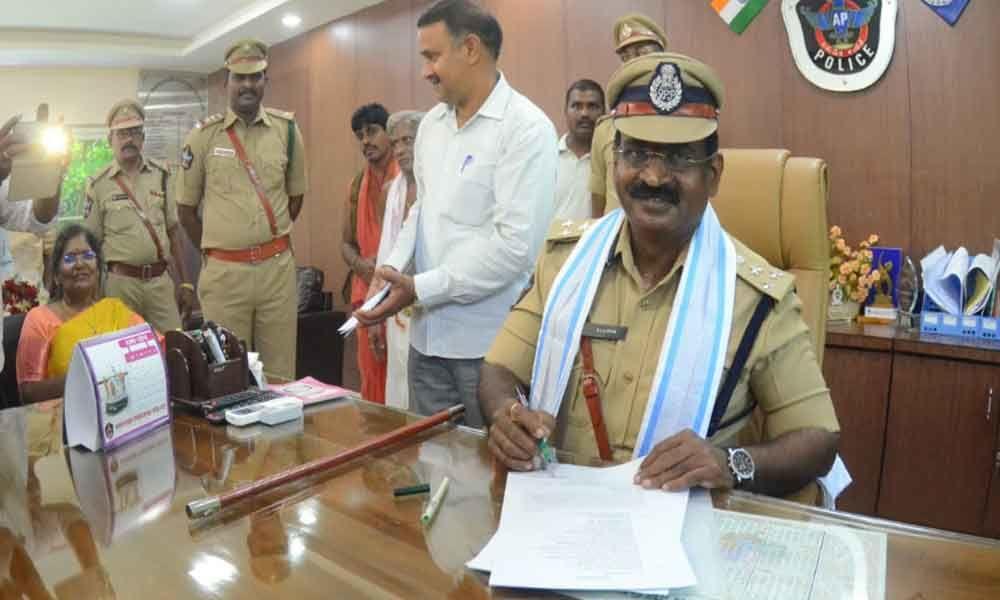 LKV Ranga Rao takes charge as Visakhapatnams DIG