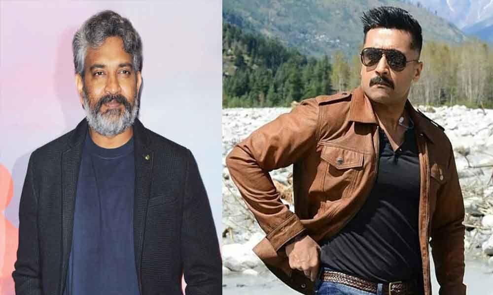 Rajamouli to promote Suriyas film