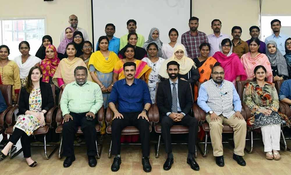 2-day workshop held for TMREIS teachers