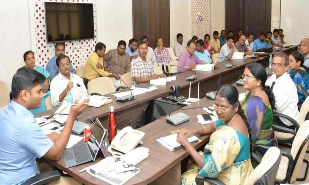 Accept petitions with smile at Spandana, officials told Collector