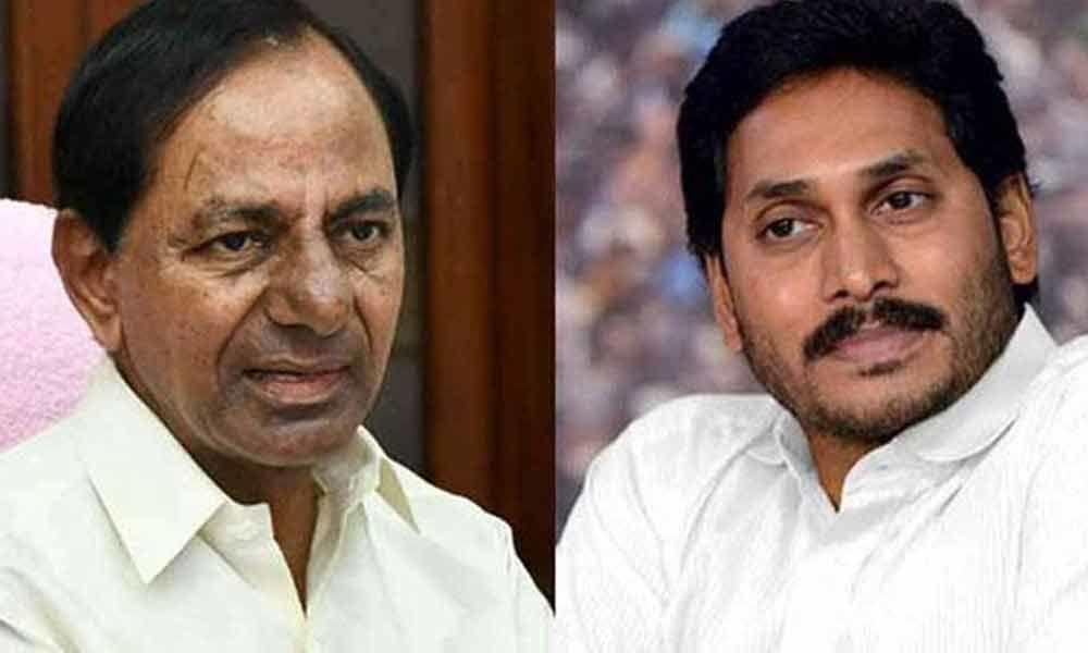 KCR-JAGAN Meet Set To Unify Telugu States : Water sharing top on CMs agenda